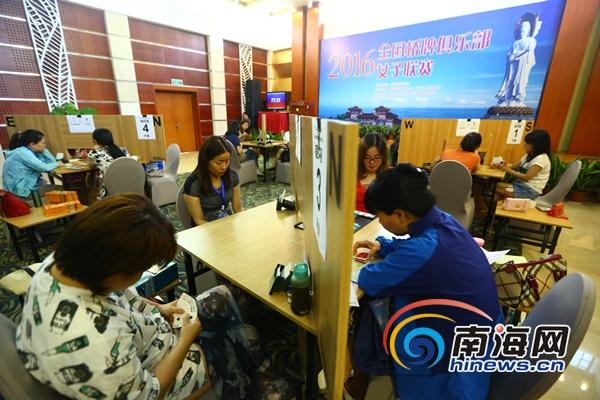 2019全国桥牌俱乐部女子联赛在三亚南山开赛高手云集