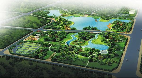 海口海秀公园项目征地工作已启动计划明年7月动工