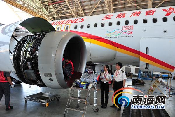 海口海关支持推动境外飞机进境维修业务在海南正式启动