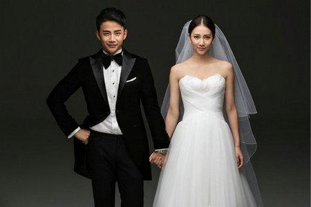 弦子晒婚纱照宣布结婚