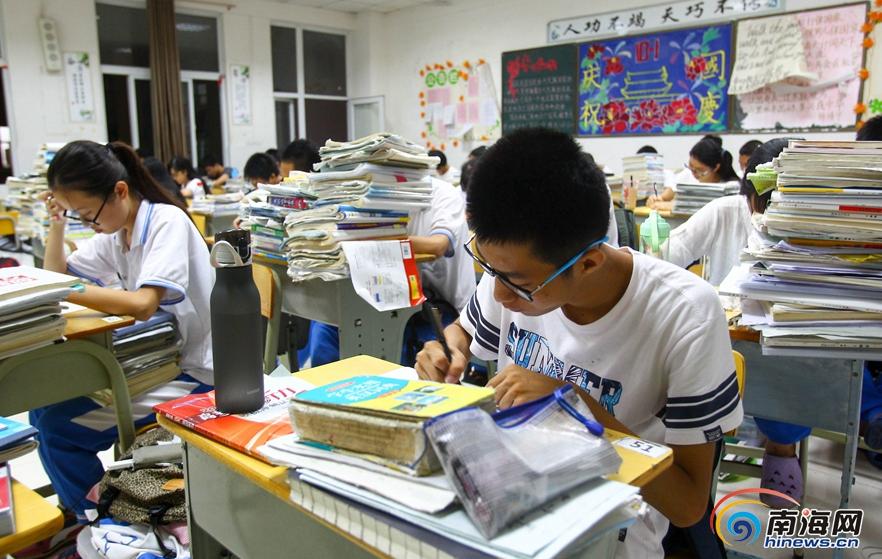 南海网整合:海南历年高考最高分考生分享学习经验