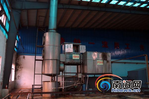 三亚一橡胶厂排放臭气影响居民环保局督促其整改