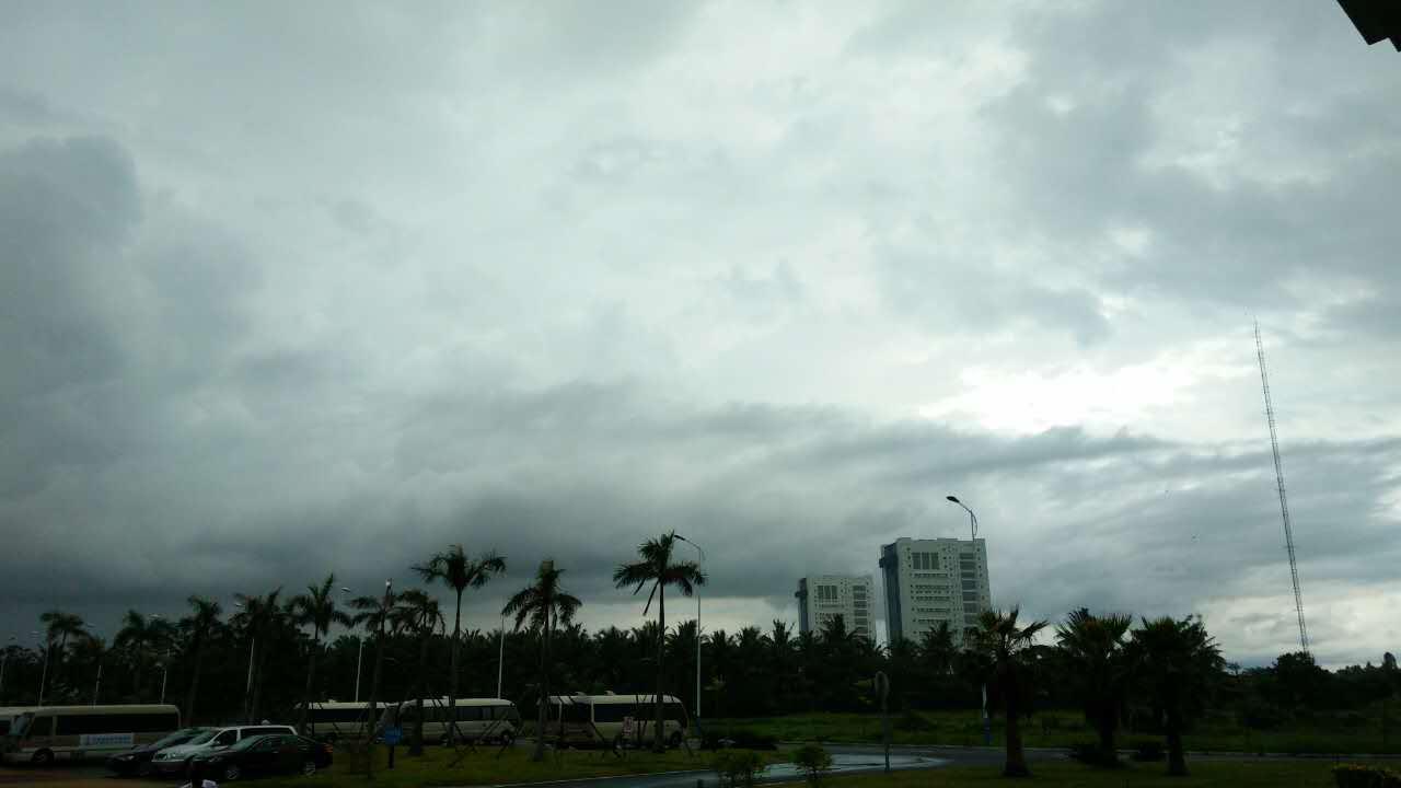 海南文昌复杂气象不影响长征七号发射