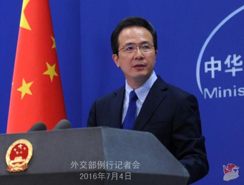 外交部:菲方律师预测裁决暴露菲前政府谎言