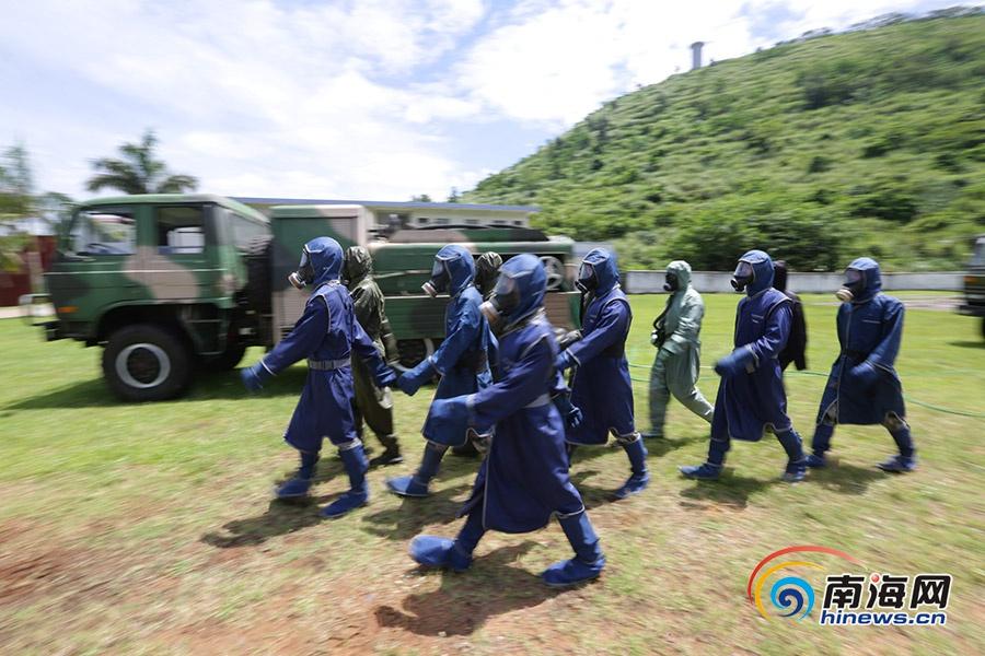 探访海南省唯一一支省级核生化应急专业救援力量