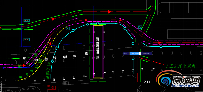 海口美兰机场高架桥扩桥10日起车辆驶离道路将更改