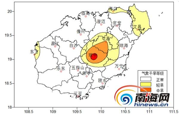 <b>本周海南全岛高温炎热多个市县最高气温可达39℃</b>