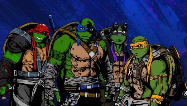 7    网易娱乐7月18日报道 正在全国火热上映的《忍者神龟2:破影图片