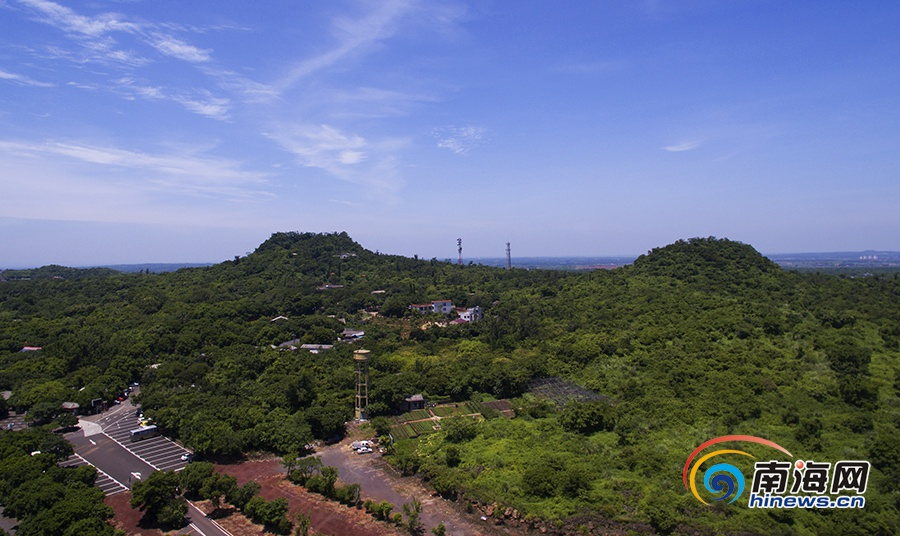 瞰海南:海口火山口地质公园将扩建成大型旅游区