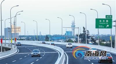 <b>海秀快速路贯通东西海口将打造立体交通路网</b>