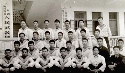 逾六旬重庆老兵发来西沙珍贵照片 想再回三沙看看