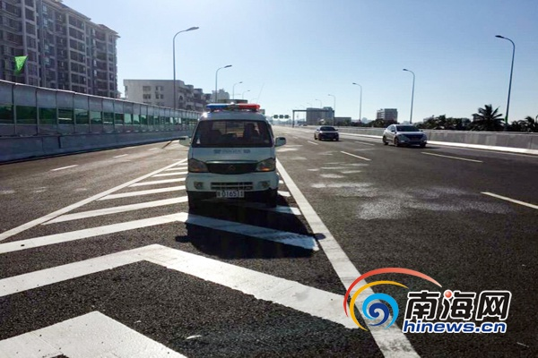 海口交警严查海秀快速路超速车辆部分超速车辆曝光