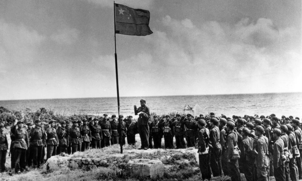 历史组一等奖叶用才《收复甘泉岛――西沙自卫反击战战地纪实摄影》
