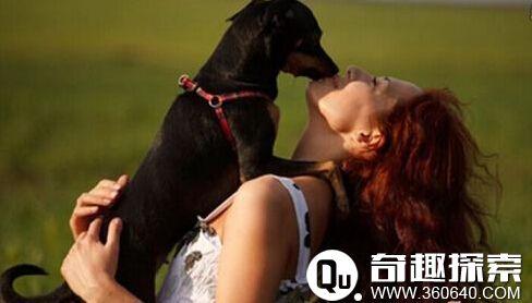 女子上班前和狗狗吻别 嘴唇被咬裂险毁容