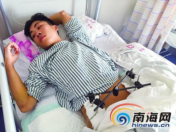 临高17岁少年遭遇车祸昏迷3天才醒来急需手术却没钱