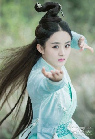 """《诛仙》开播女主赵丽颖上线 """"碧瑶""""的发型都好仙"""