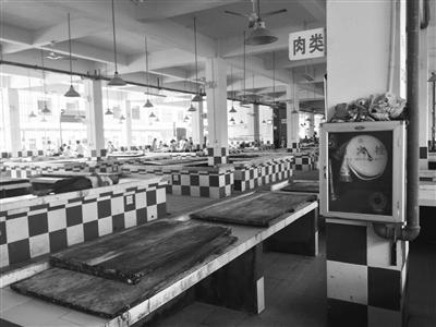 <b>麻烦!东山镇农贸市场猪肉摊贩歇业4天买肉要到6公里外</b>