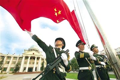 法制时报:三沙市永兴岛武警官兵戍边速写