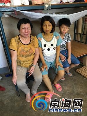 3个孩子病逝后小女儿又患重病屯昌69岁母亲打工救女