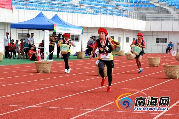 海南全民健身运动会选手感触抢种抢收贴近生活