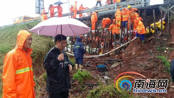 海南省养公路52处因漫水阻断高速公路全线可通行