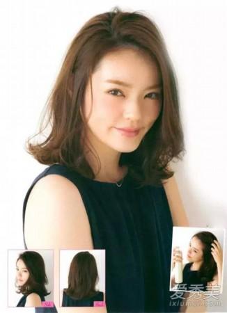 2016中发发型图片女 12款造型流行百搭图片