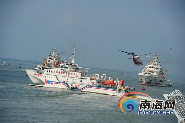 南部海区应急救援综合演练三亚举行场面震撼