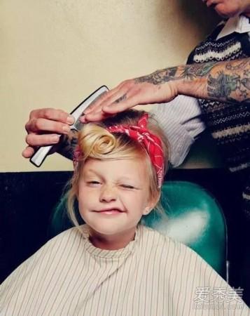 发型头发少就不随便换圆脸?最全萌娃长发推2018图片发型宝宝女中造型图片