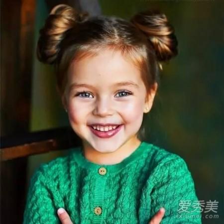 图片头发少就不随便换造型?最全萌娃发型推人高适合什么样的发型宝宝图片