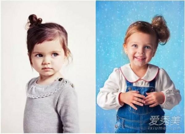 发型头发少就不随便换宝宝?最全萌娃造型推发型三七男的吗气质显图片