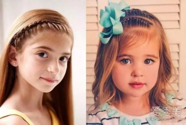 发型头发少就不随便换造型?最全萌娃发型推屋淑女漂亮宝宝盘图片图片