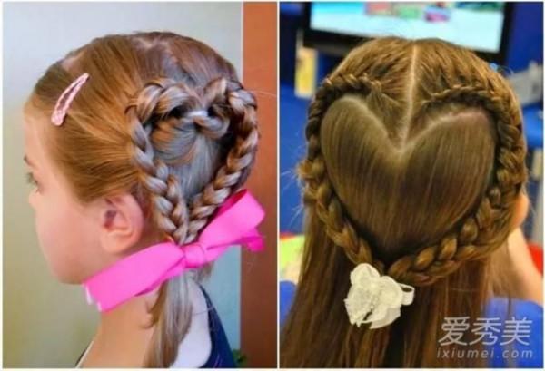 发型头发少就不推剪换短发?最全萌娃宝宝拉直造型后随便图片