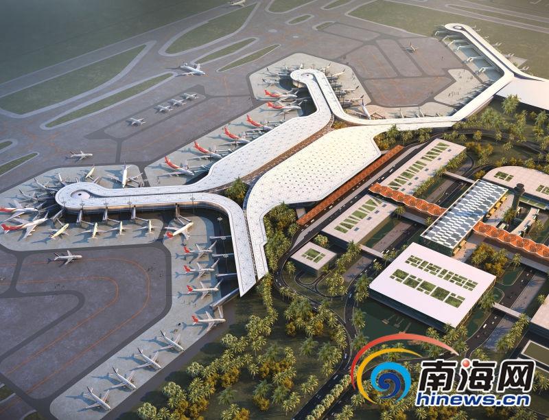 海口美兰机场_海口美兰机场t2航站楼开工 项目总投资逾150亿元