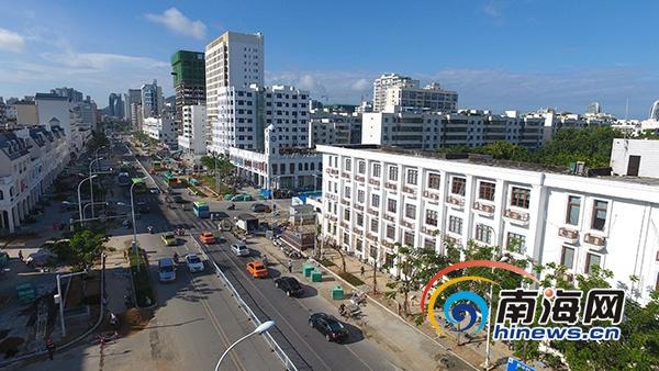 三亚解放二路部分路段改造9月17日至20日将实施道路管制