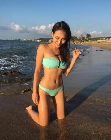 海南哥妹网_台湾妹变泳装女神 晒健身照秀极品身材__海南新闻网