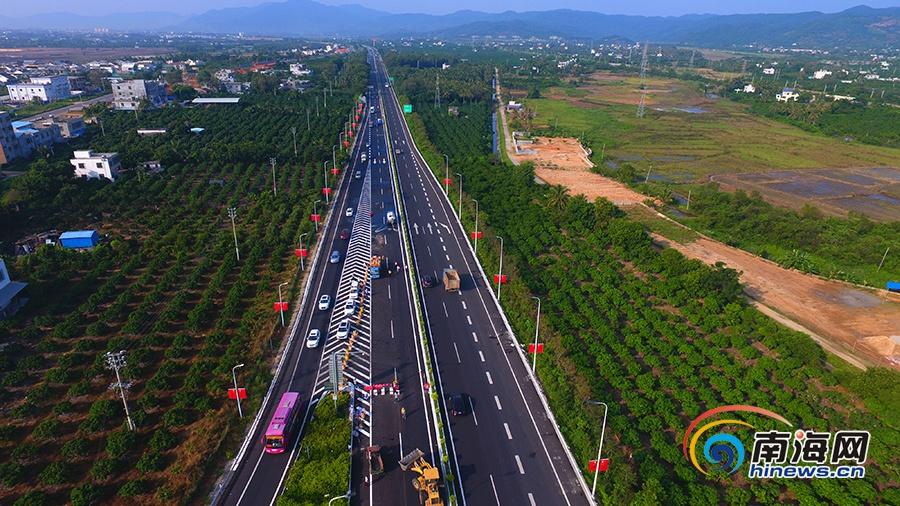 据海南省交通工程建设局相关负责人介绍,目前改建的g98环岛高速公路