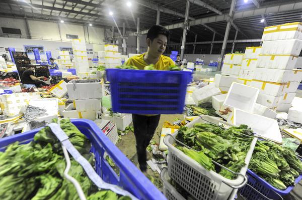 国庆期间海口平价菜日投放100吨低于市场价15%以上