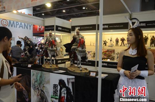 华南最大规模动漫游戏展开幕海内外近百动漫品牌参展