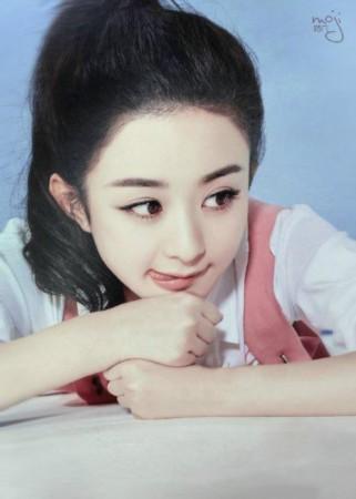 """赵丽颖号称""""呆萌小公主"""",这都是她没整容的证据"""