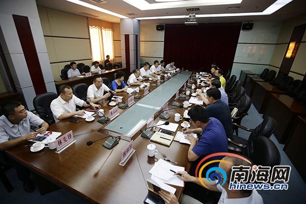 海口市琼山区主要领导走访海南日报报业集团 共商琼台复兴