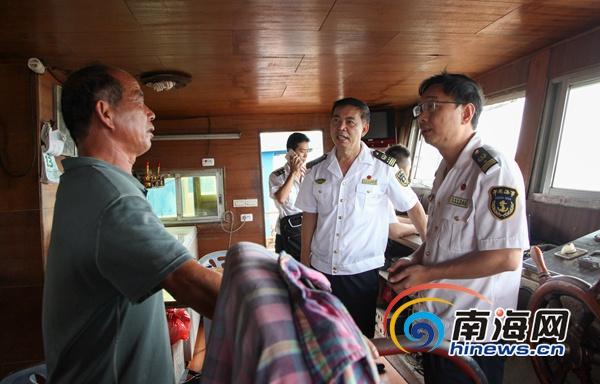 海口海事局整治水工作业及运输船舶违法违章行为