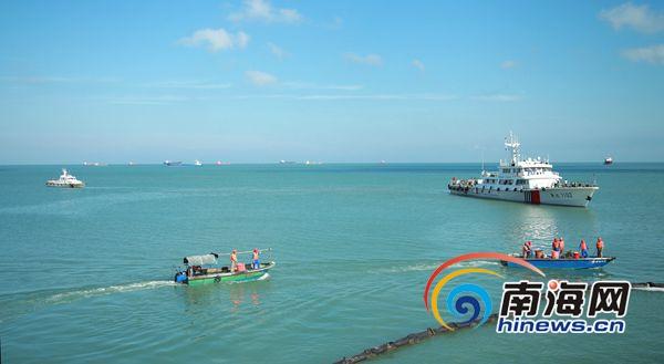 <b>2019年码头溢油消防救护应急演练在海南国盛石油码头举行</b>