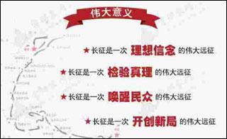 习近平:长征是中华民族伟大复兴进程的丰碑