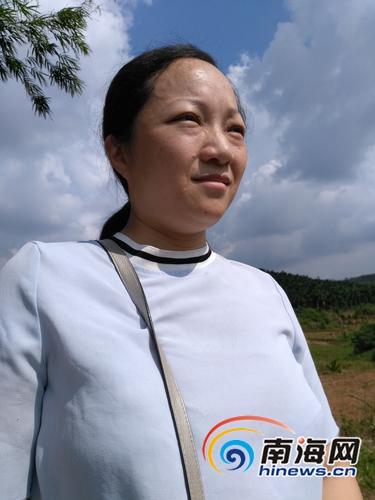 """琼海大头坡村""""第一书记""""李汶珈:助村民走产业化经营之路"""