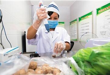 三亚农贸市场超市快检设备升级 食品安全有保障