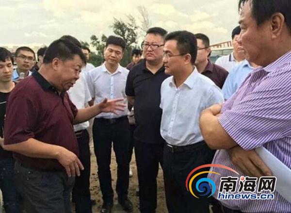倪强调研北大附中等项目 现场办公解决教育发展难题