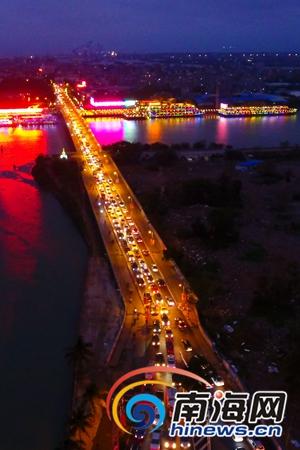 新埠岛开发速度加快车流猛增专家建议新建一座桥