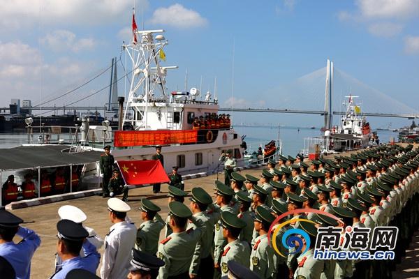 海南海警启动严打海上贩毒活动 逢船必检逢人必查