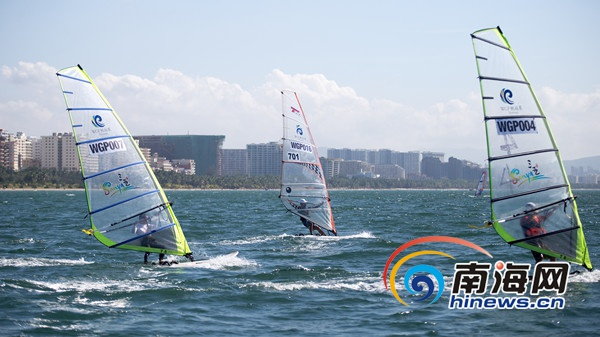 第三届国际旅游岛帆板大奖赛将于17日海口开赛