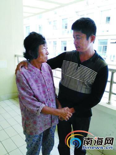 文昌一母子同患尿毒症母亲减少透析省钱给儿治病